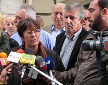 Rosa Pavanelli press conference